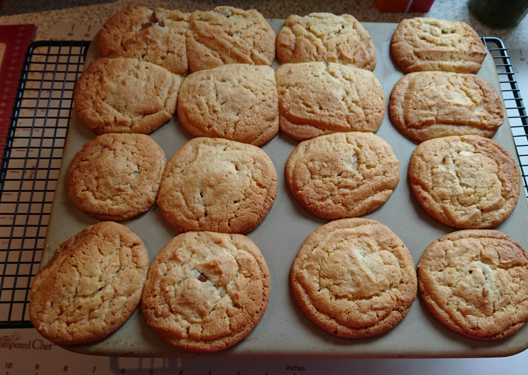 Erdnussbutter-Schoko-Kekse vom Zauberstein