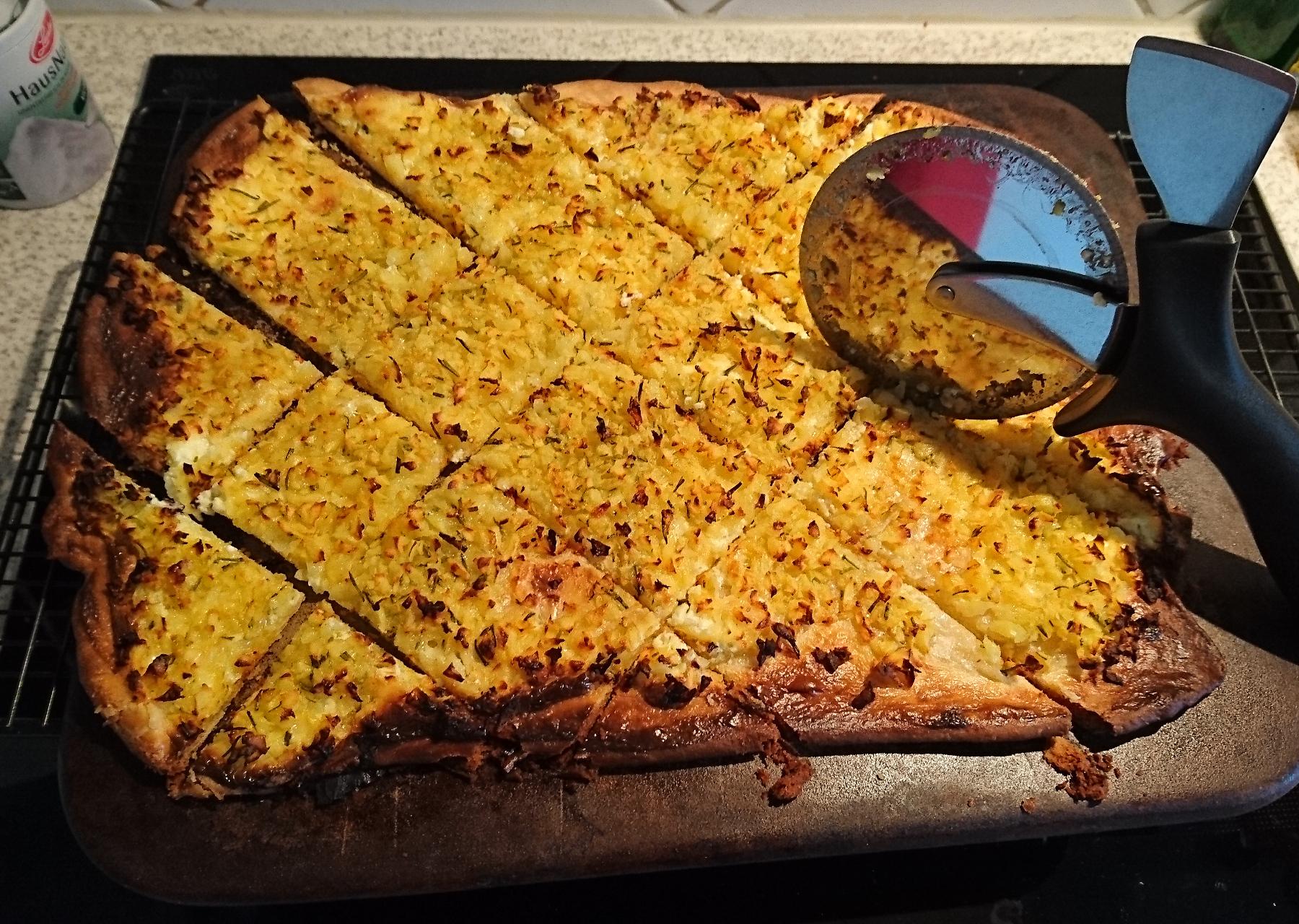 Kartoffel-Rosmarin-Ecken vom Zauberstein