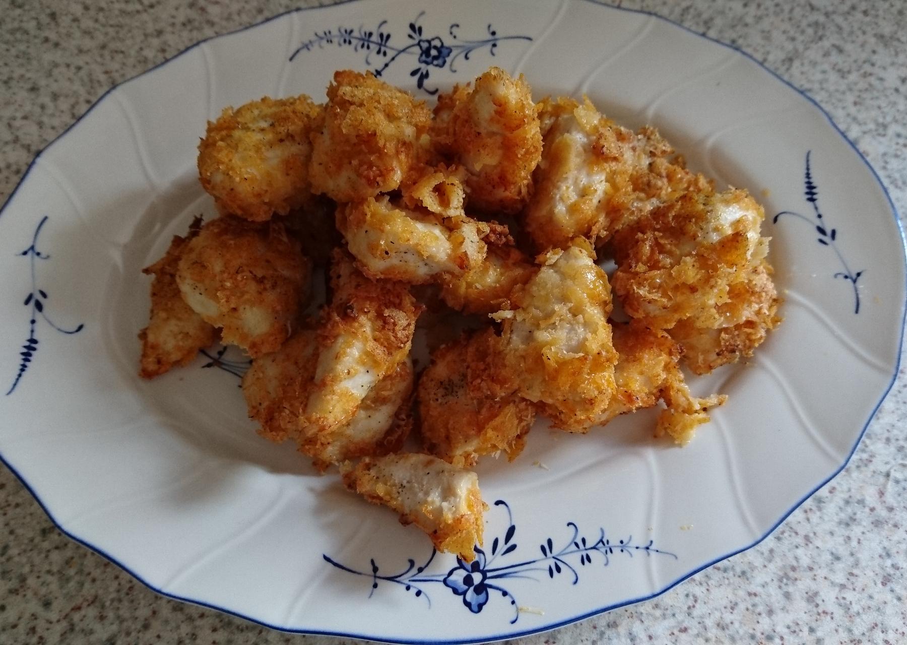 Chips-Parmesan-Nuggets oriental