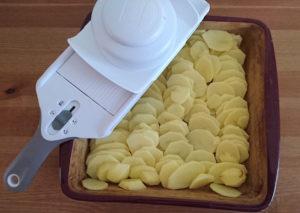Französischer Kartoffelgratin