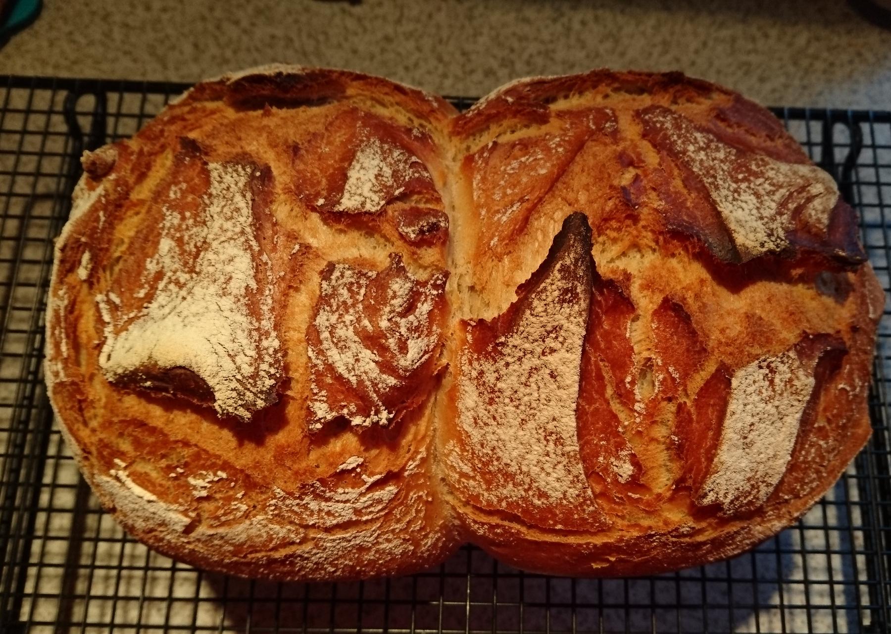 Sausa-Brot aus dem Zaubermeister
