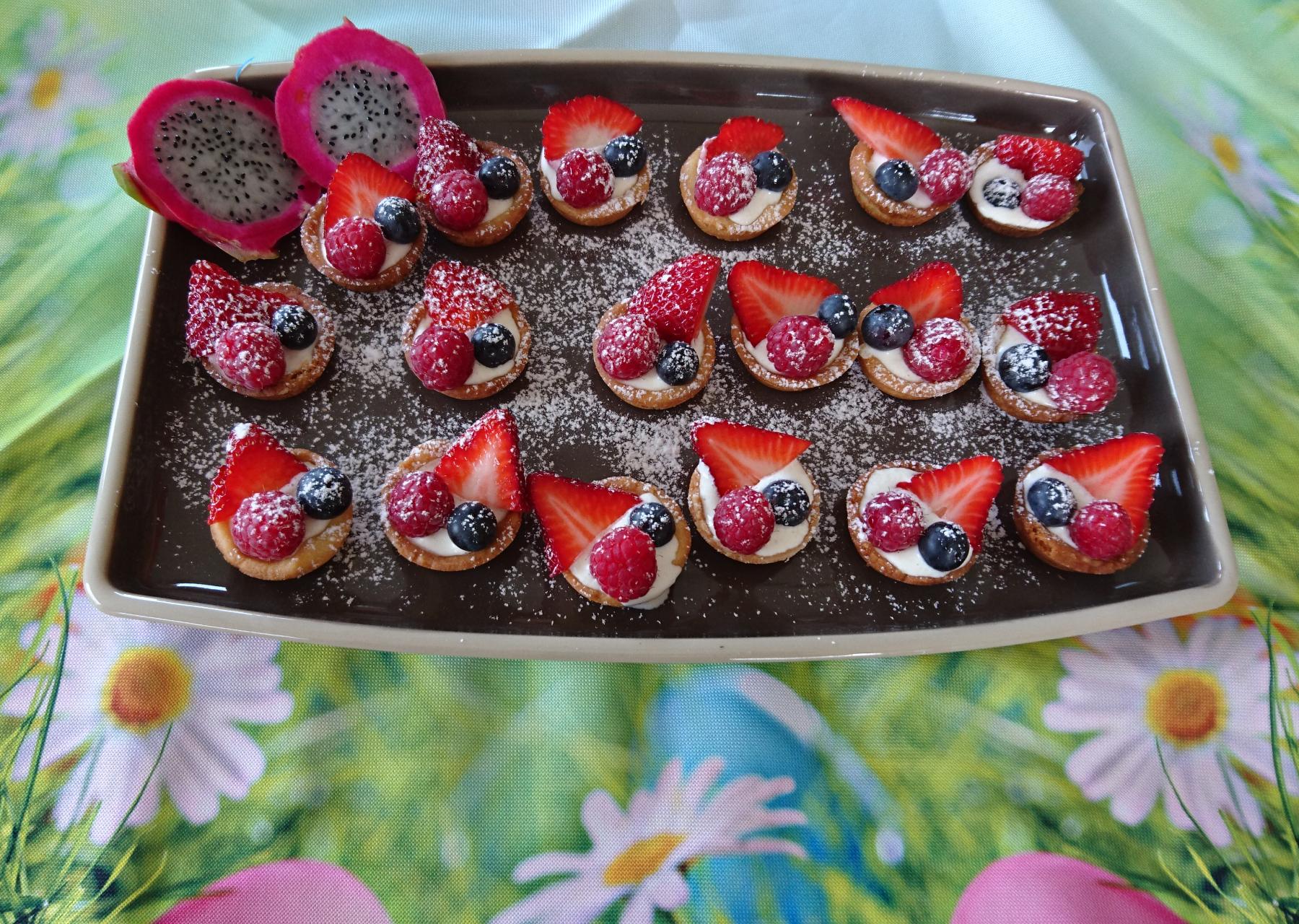 Petit Fleer – kleine Obsttörtchen