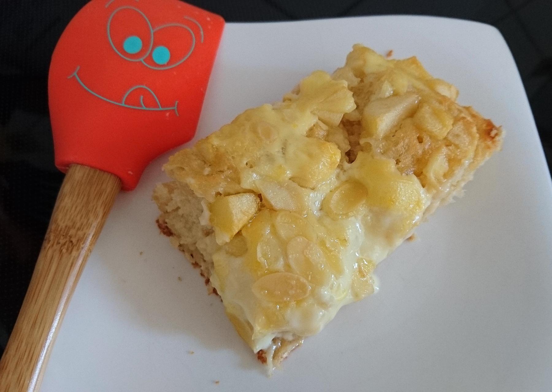 Brioche-Apfelpuddingkuchen