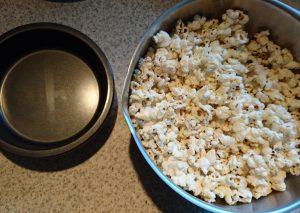 No Bake Popcorn Kuchen Kochen Mit Fleer