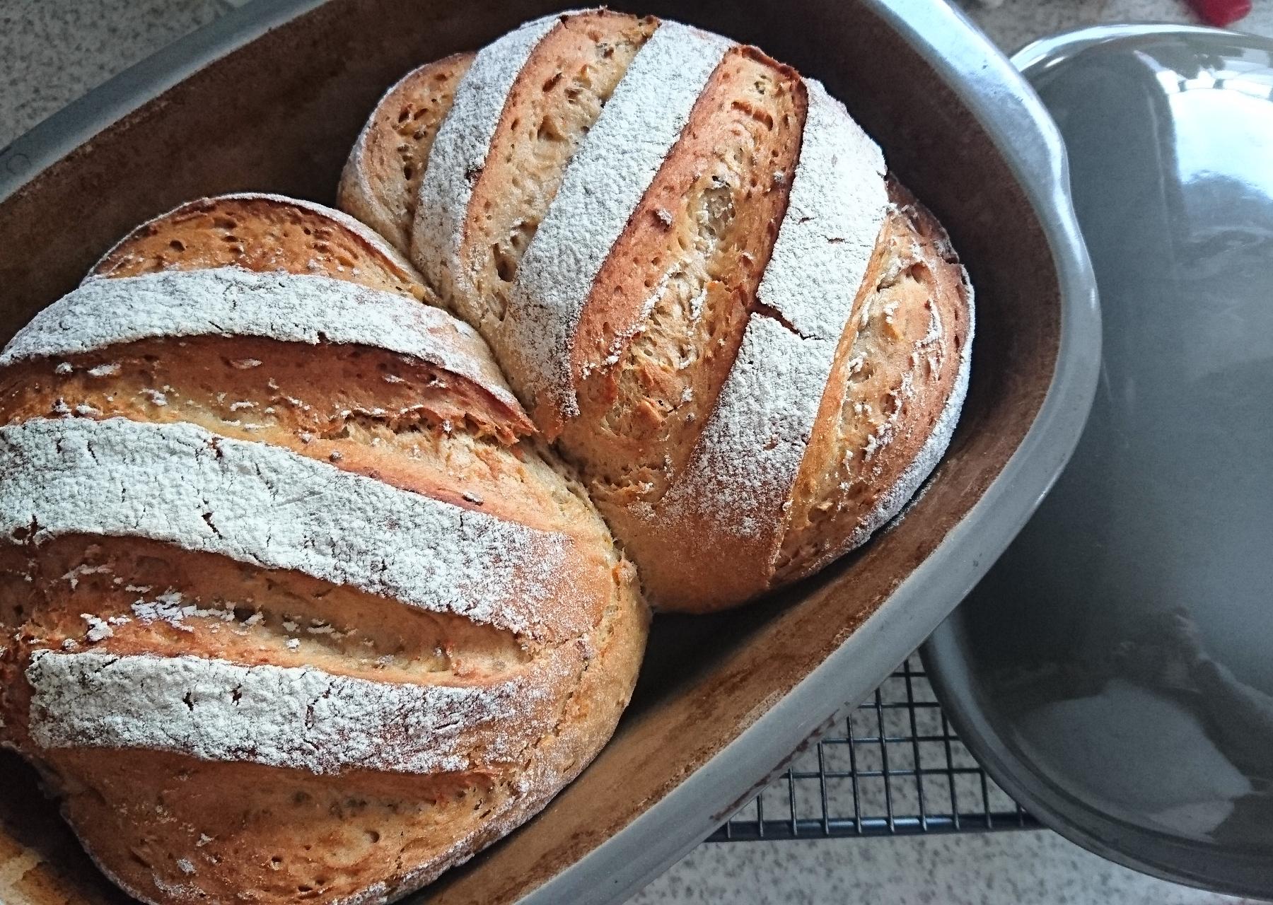 3 Hasen Brot