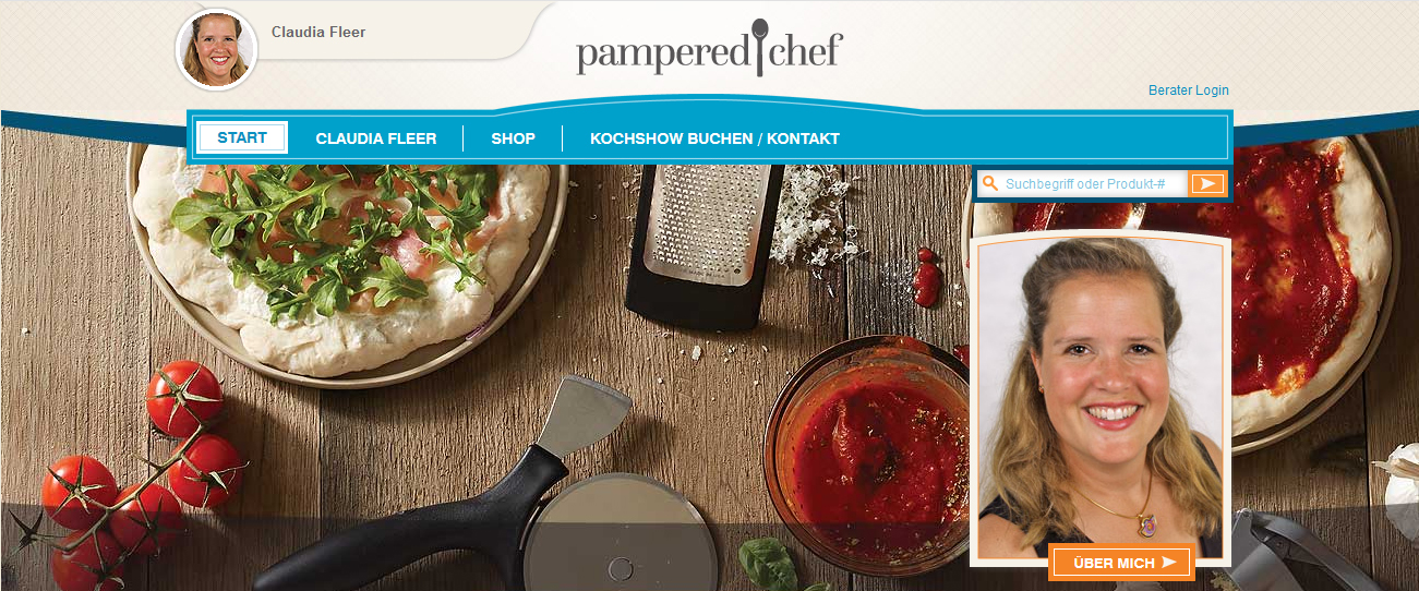 Pampered Chef® Onlineshop