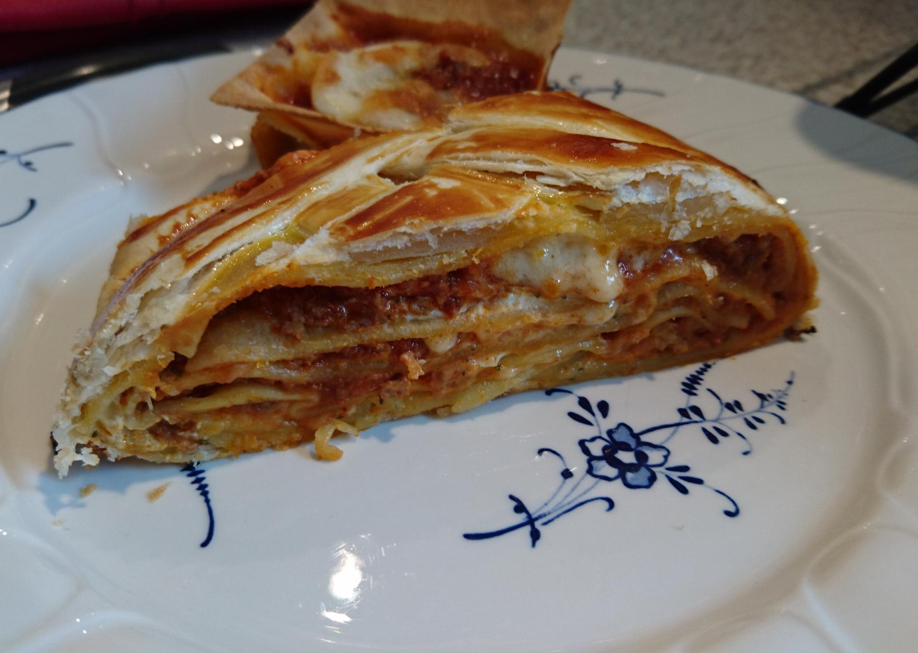 Lasagne auf 2 verschiedene Arten