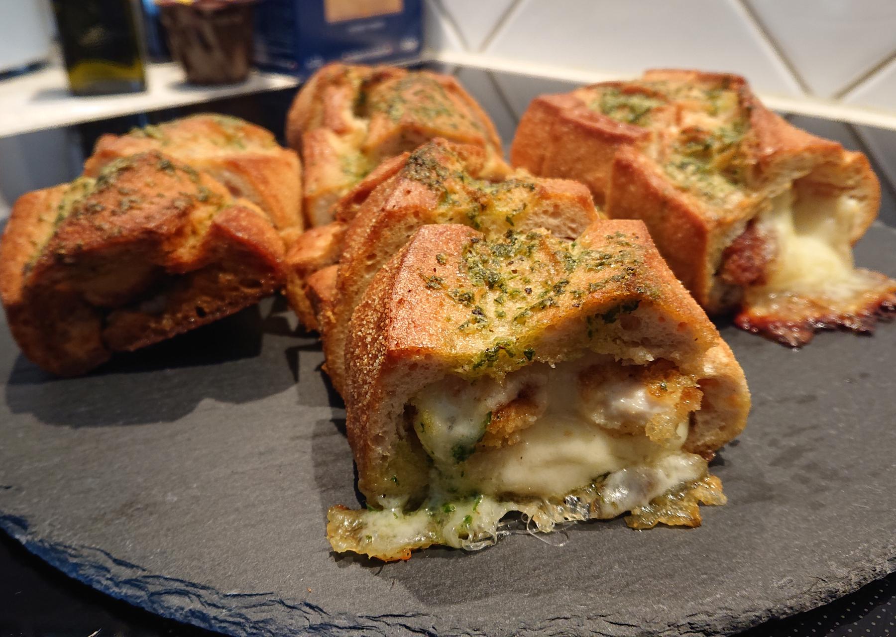 Crunchy Chicken Kräuter Baguette