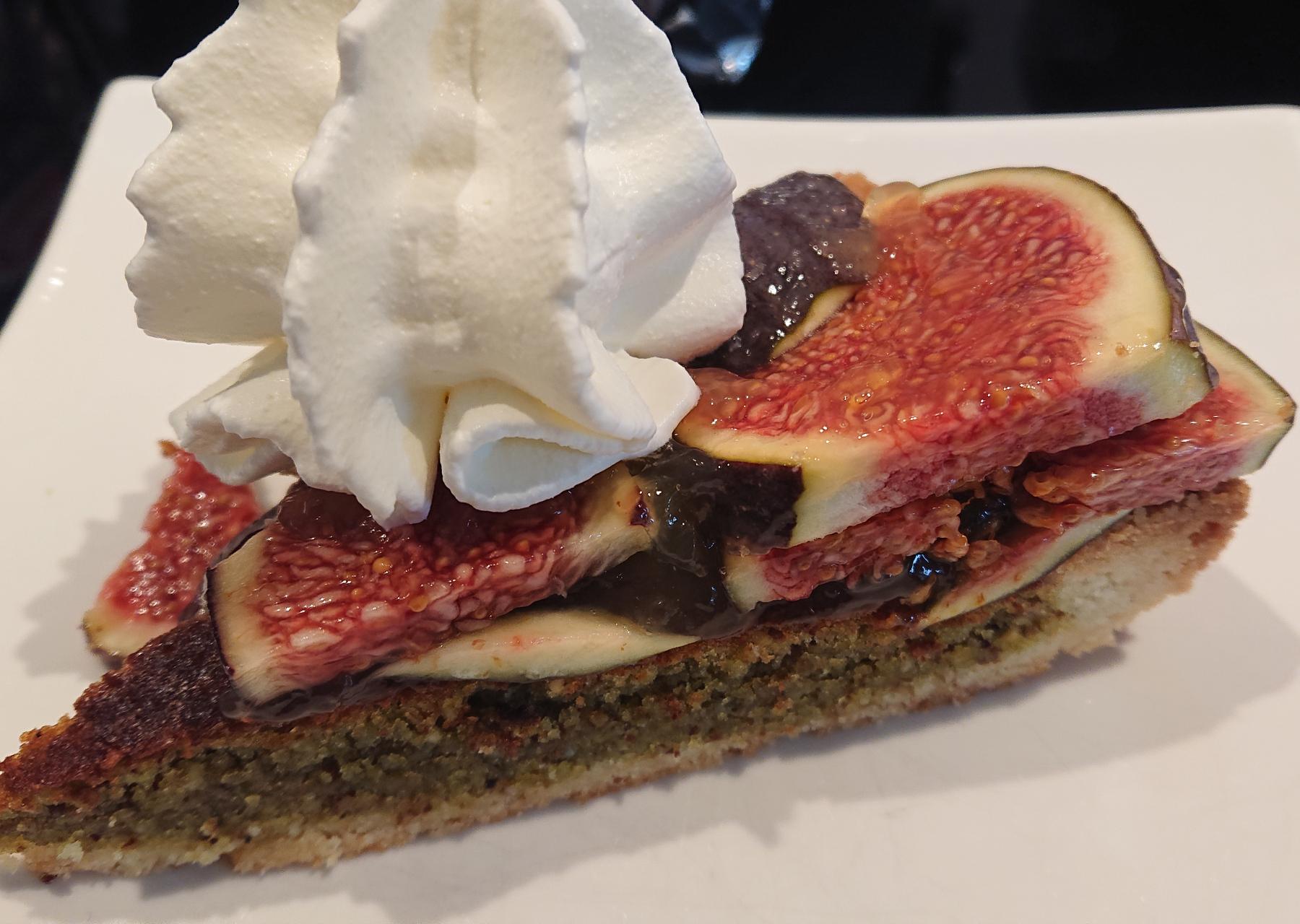 Feigen-Pistazien Kuchen