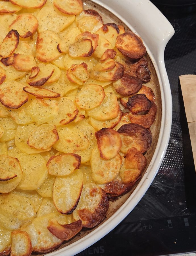 Bratkartoffeln vom Stein