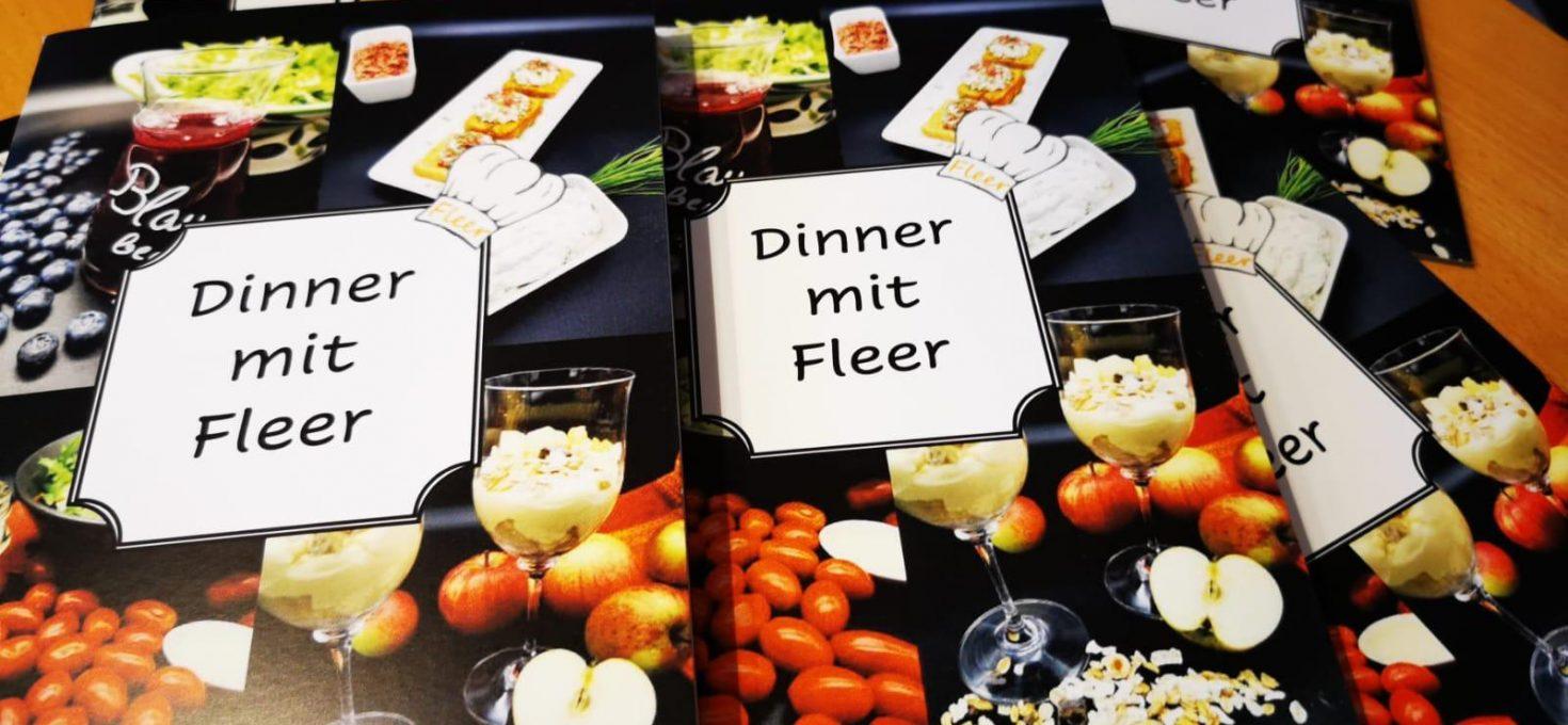 Rezeptheft Dinner mit Fleer