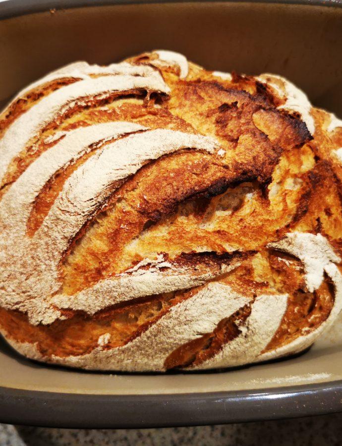 Buttermilch-Creme Fraiche Brot