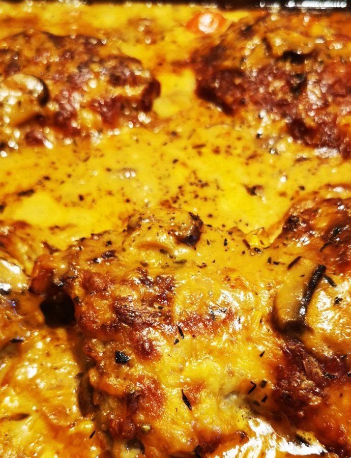 Schnitzelpizza